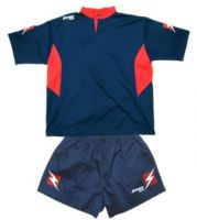 ΕΜΦΑΝΙΣΗ RUGBY ZEUS SET MAX BLUE/RED