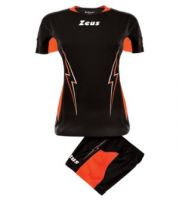 ΕΜΦΑΝΙΣΗ ΒΟΛΛΕΫ ZEUS SET DONNA TUONO BLACK/ORANGE FLUO